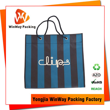NW-166 120Gram Reinforced Reusable Non-Woven Grocery Tote Bag