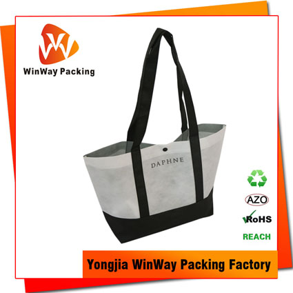NW-167 Handle Reinforced Recycled Non Woven Shopping Bag TNT