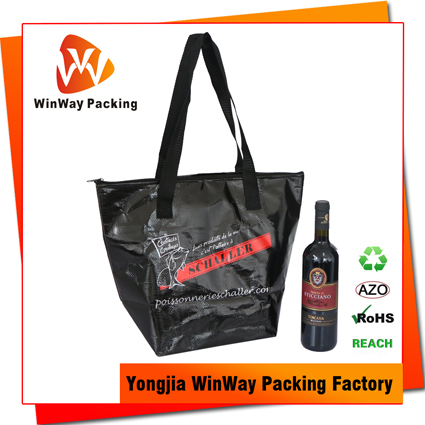 ICE-050 pp non woven insulated cooler bag reusable insulated grocery bag