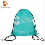 Polyester Bag Cheap price reusable custom 190t polyester folding shopping bag